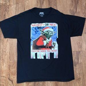 Star Wars Christmas Yoda T-Shirt